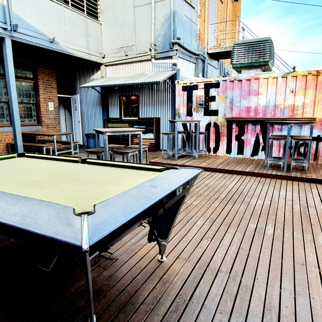 Pool Table deck TH