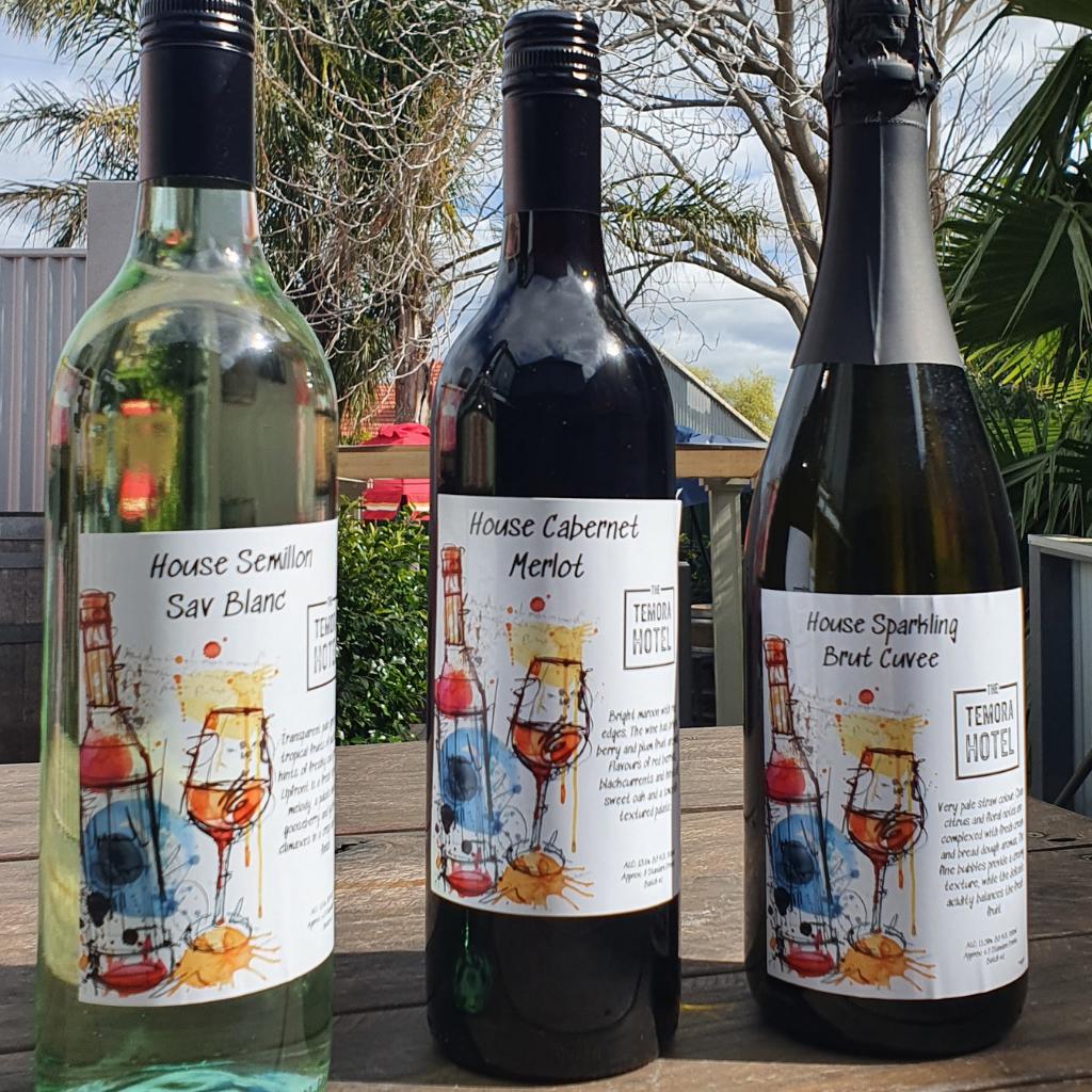 Temora Hotel wines